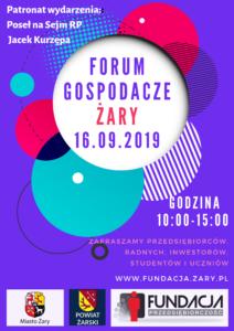 Forum Gospodarcze Żary 2019